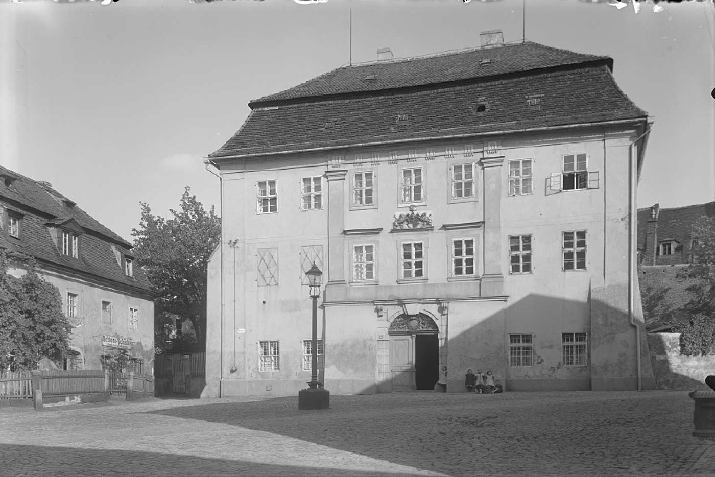 altes Bild vom Gersdorffschen Palais
