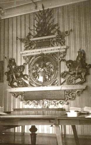Wappenmonument im Görlitzer Ständehaus
